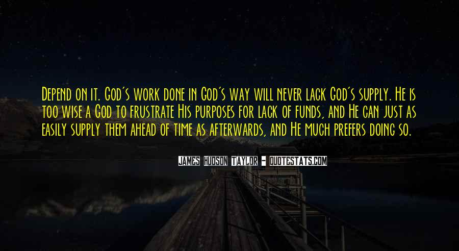 Depend On God Quotes #768065