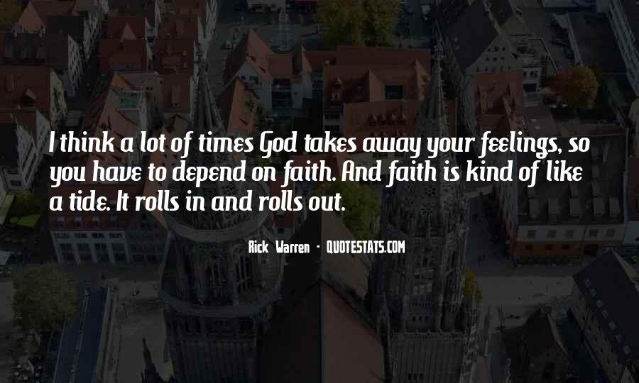 Depend On God Quotes #788778