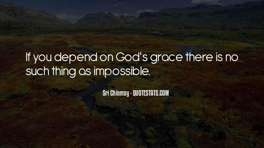 Depend On God Quotes #982590
