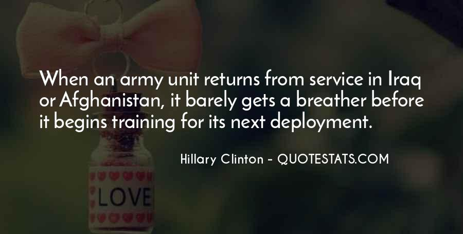 Deployment Is Over Quotes #65588