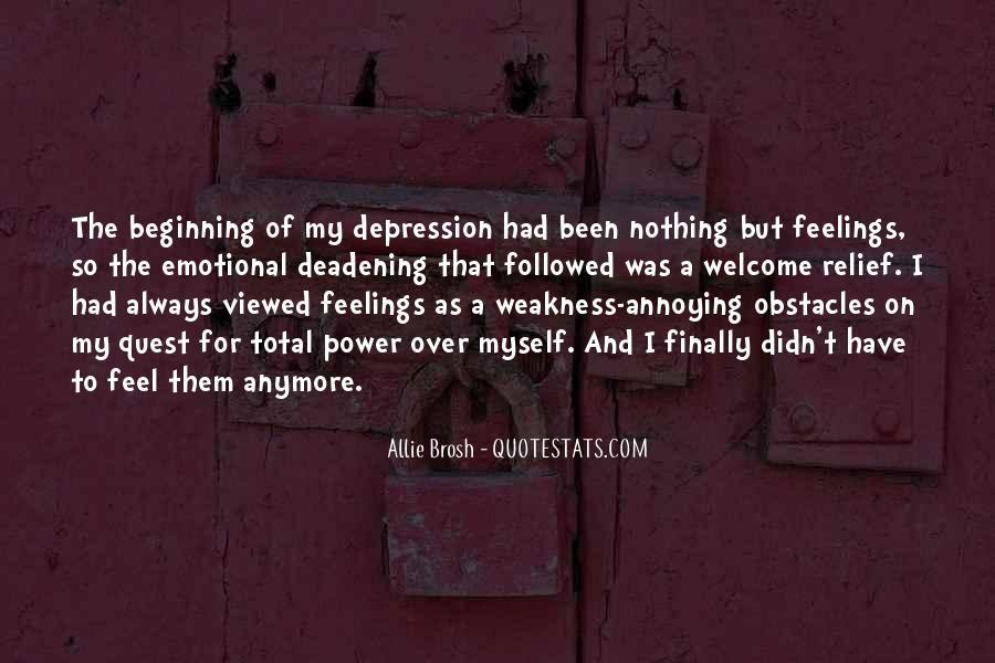 Depression Relief Quotes #762680