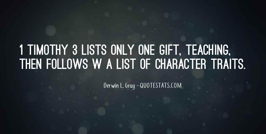 Derwin Gray Quotes #672514