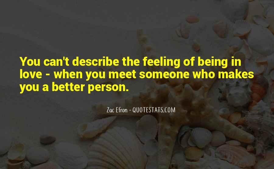 Describe Love Feeling Quotes #1817258