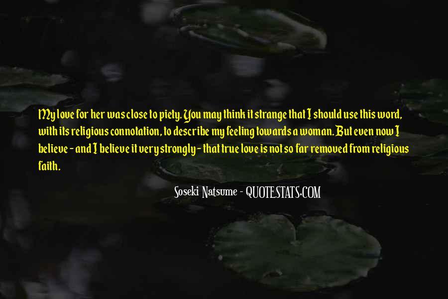 Describe Love Feeling Quotes #800964