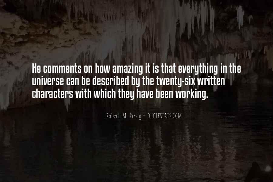 Described Quotes #149005