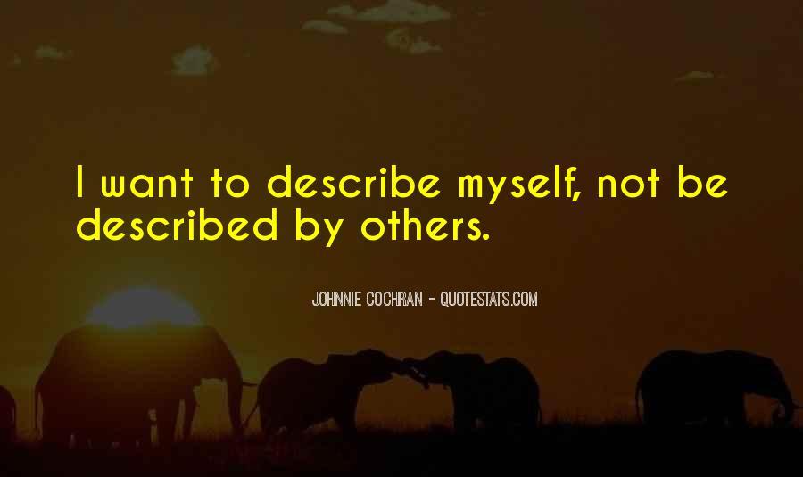 Described Quotes #5410
