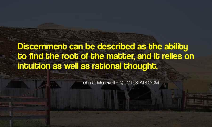 Described Quotes #59814