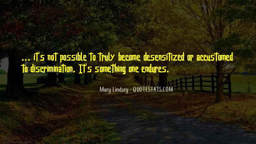 Desensitized Quotes #1312379