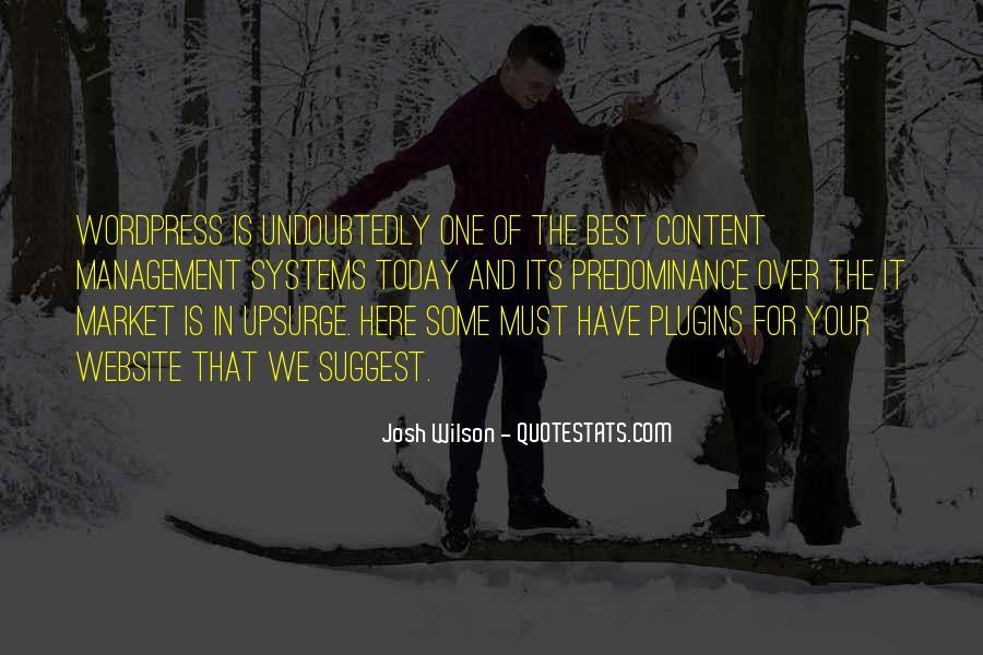 Design And Content Quotes #1125270