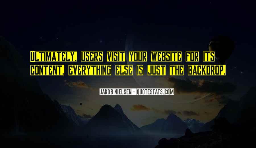 Design And Content Quotes #1194994