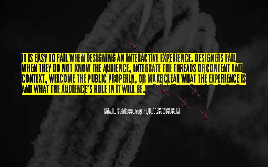 Design And Content Quotes #5470