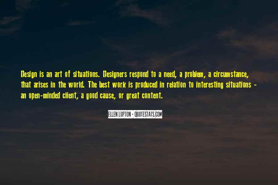 Design And Content Quotes #698842