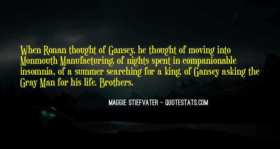 Quotes About The Nights King #1439270
