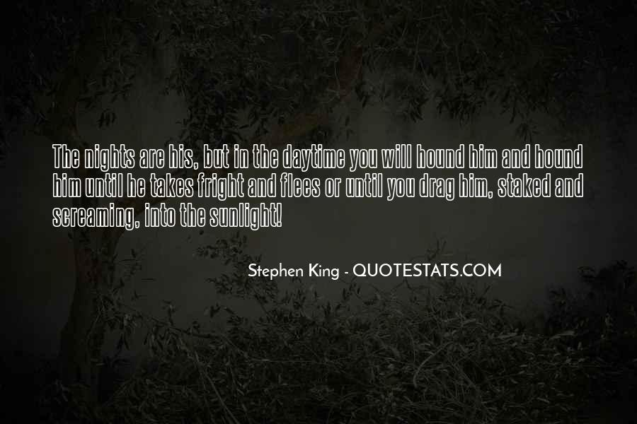 Quotes About The Nights King #62787