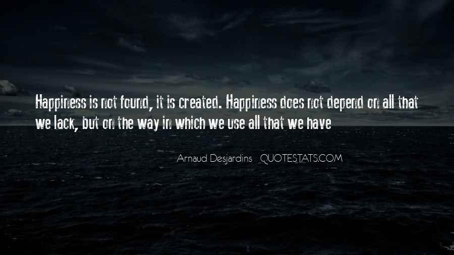 Desjardins Quotes #1859080