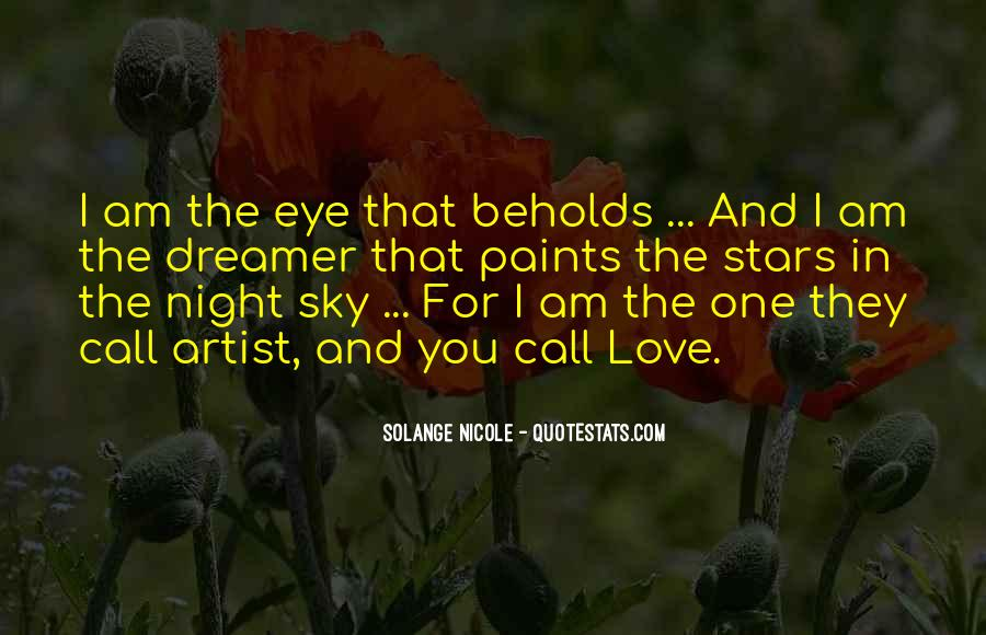 Quotes About The Night Sky And Love #1020343