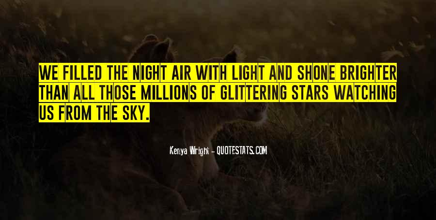 Quotes About The Night Sky And Love #1067543