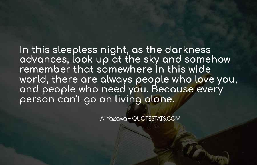 Quotes About The Night Sky And Love #1316154