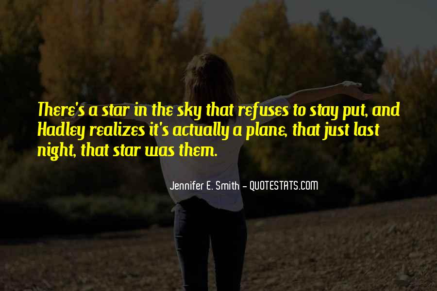 Quotes About The Night Sky And Love #1459573