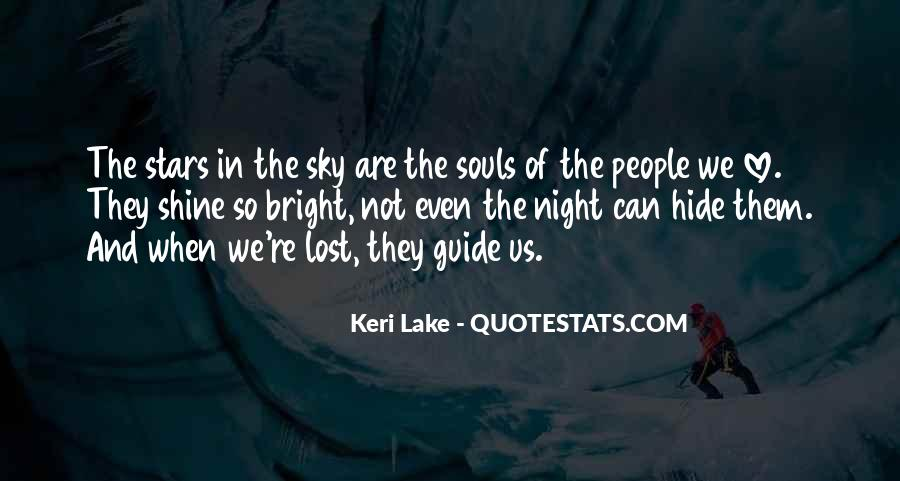 Quotes About The Night Sky And Love #686714