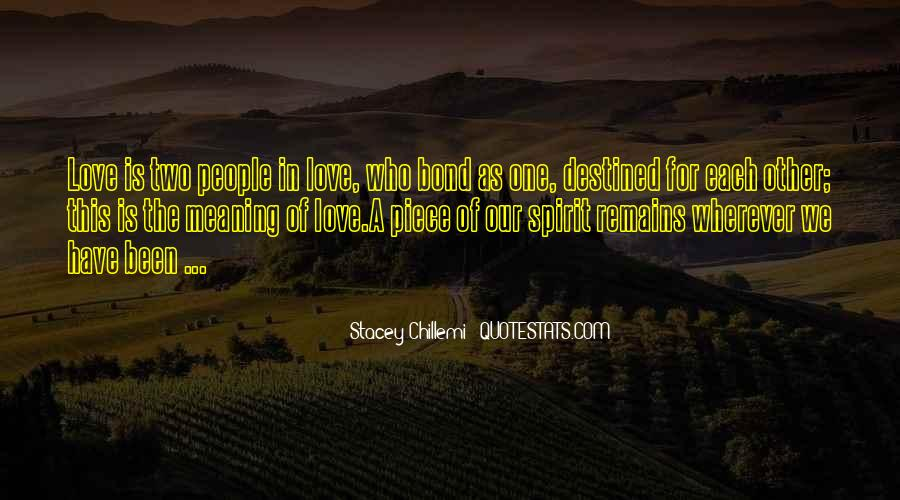 Destined For Each Other Quotes #1164257