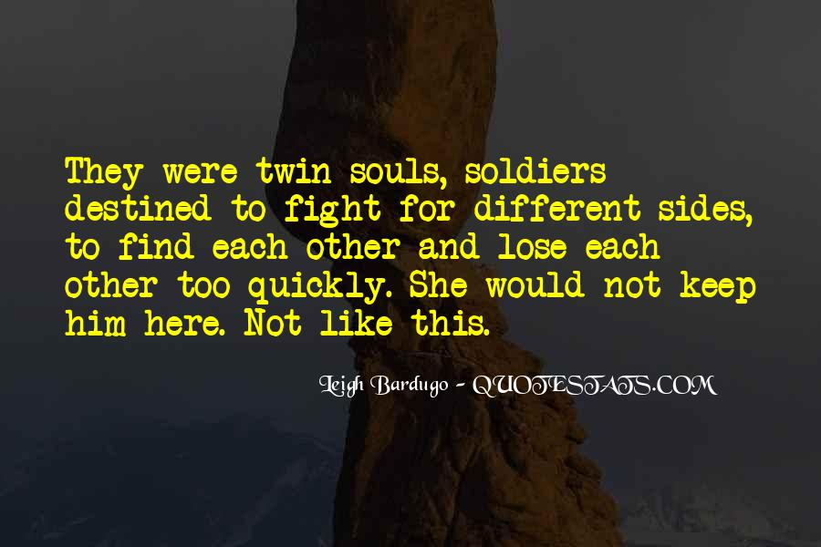 Destined For Each Other Quotes #1167401