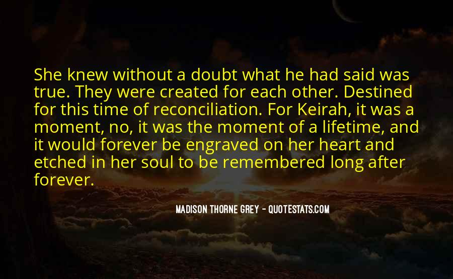 Destined For Each Other Quotes #1168977