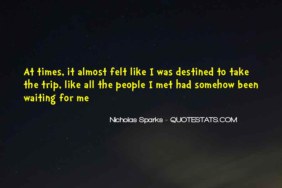 Destined For Each Other Quotes #37545