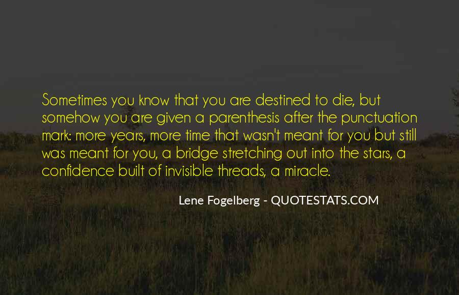 Destined For Each Other Quotes #55857