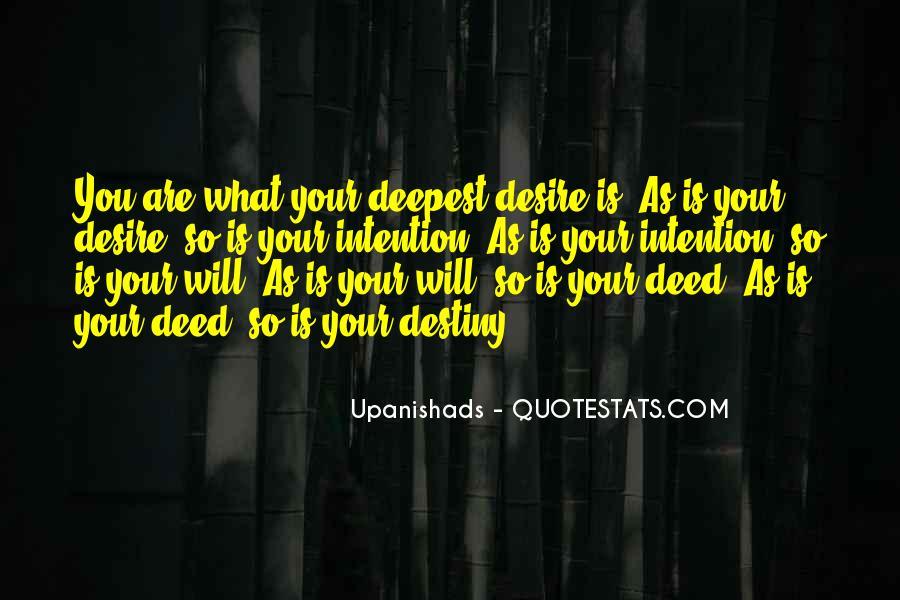 Destiny And Desire Quotes #1146815