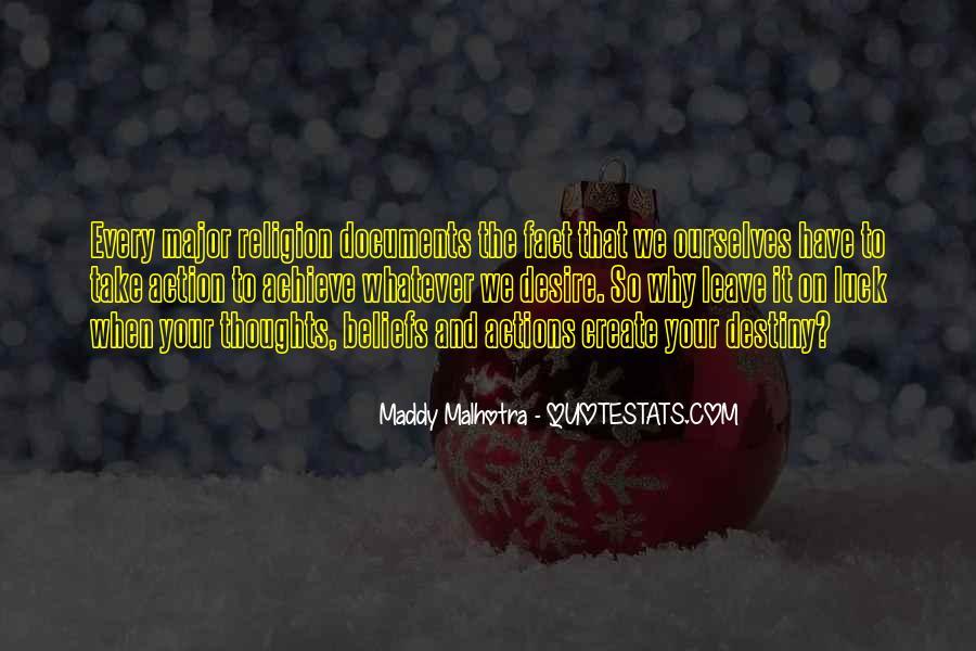 Destiny And Desire Quotes #1609323