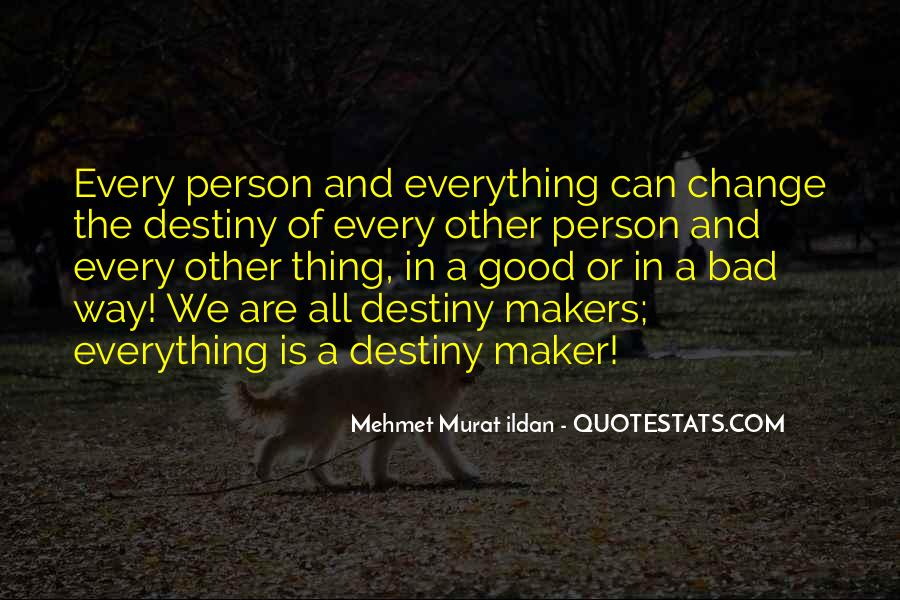 Destiny And Quotes #15672