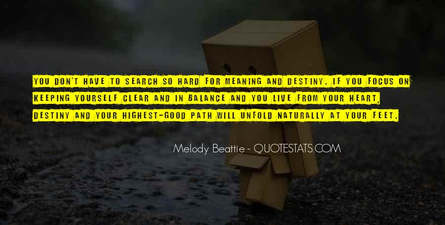 Destiny And Quotes #28172