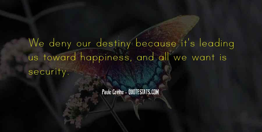 Destiny And Quotes #45240