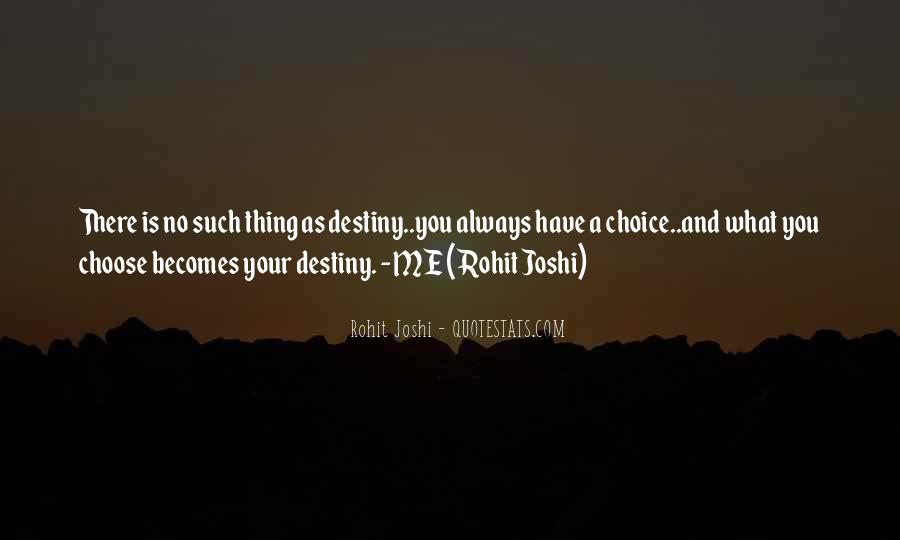 Destiny And Quotes #51939