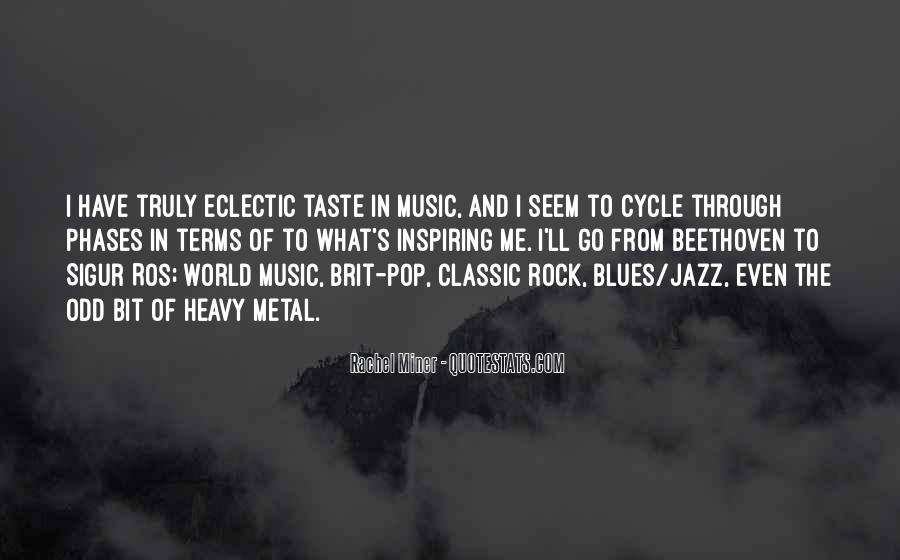 Quotes About Jazz Music #125107
