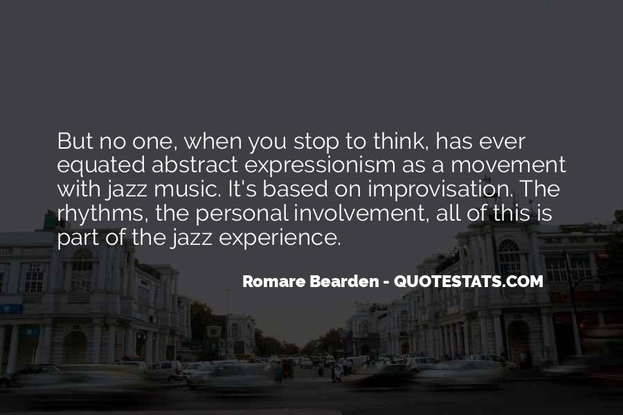 Quotes About Jazz Music #157271