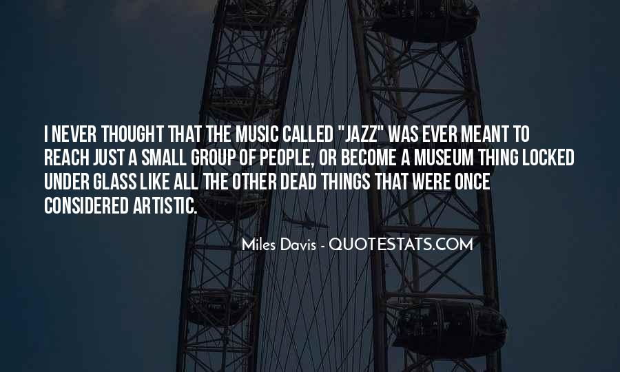 Quotes About Jazz Music #157933