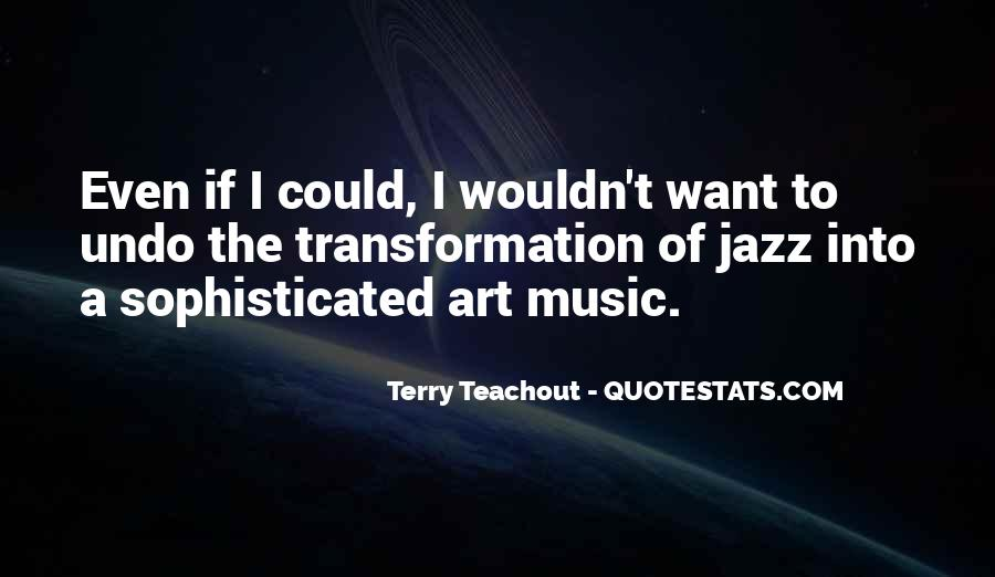 Quotes About Jazz Music #170437