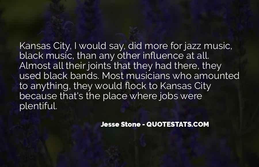 Quotes About Jazz Music #243765