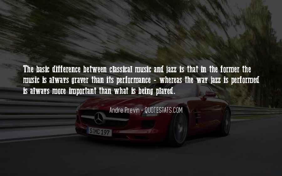 Quotes About Jazz Music #312973