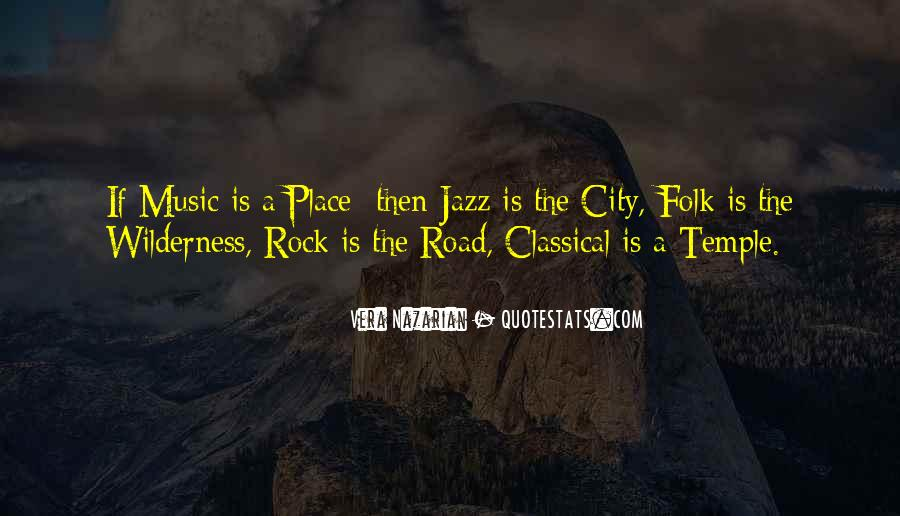 Quotes About Jazz Music #337370