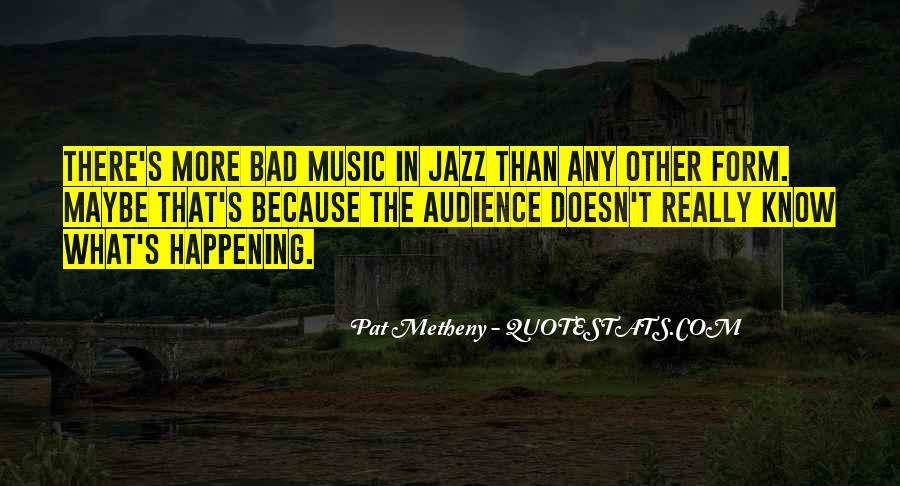 Quotes About Jazz Music #38812