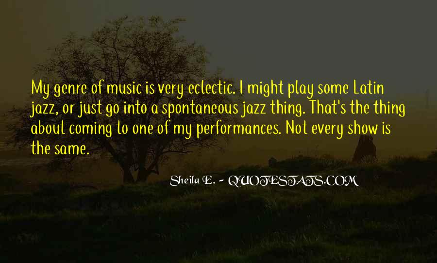 Quotes About Jazz Music #39868