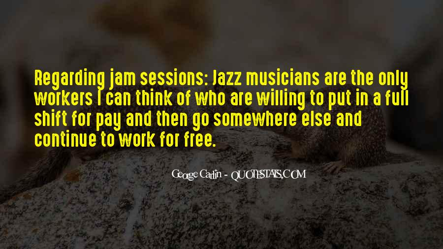 Quotes About Jazz Music #42954
