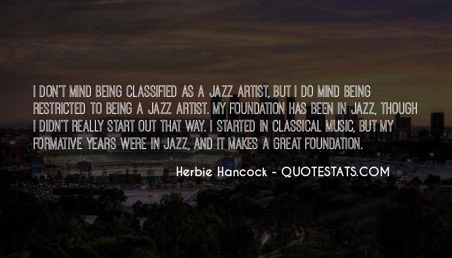Quotes About Jazz Music #8713