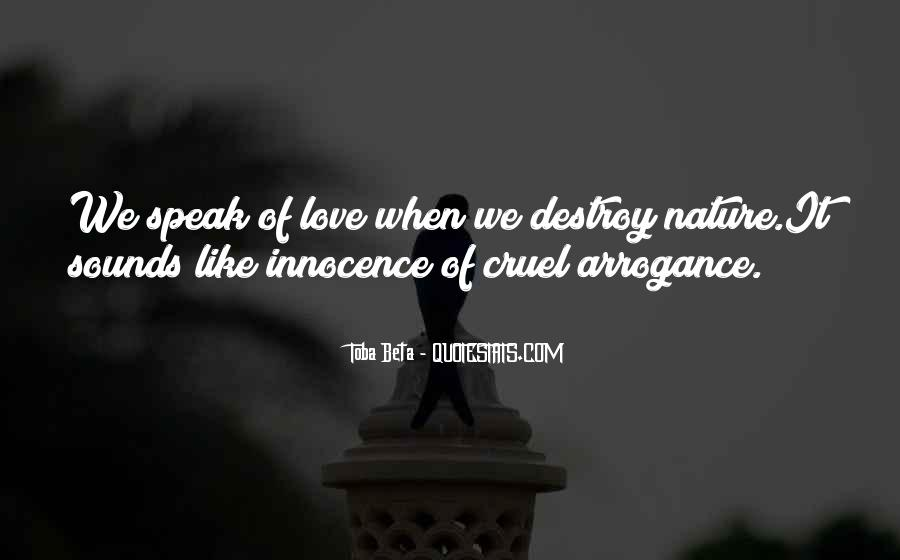 Destruction Love Quotes #1016297