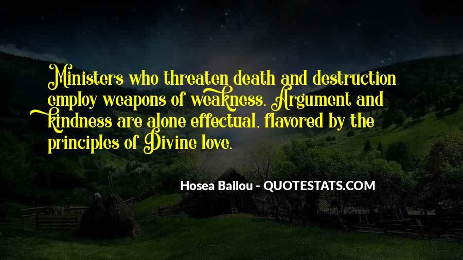 Destruction Love Quotes #1054794