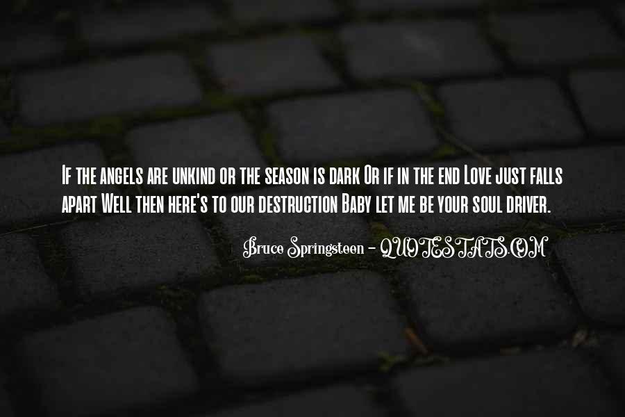 Destruction Love Quotes #1103729