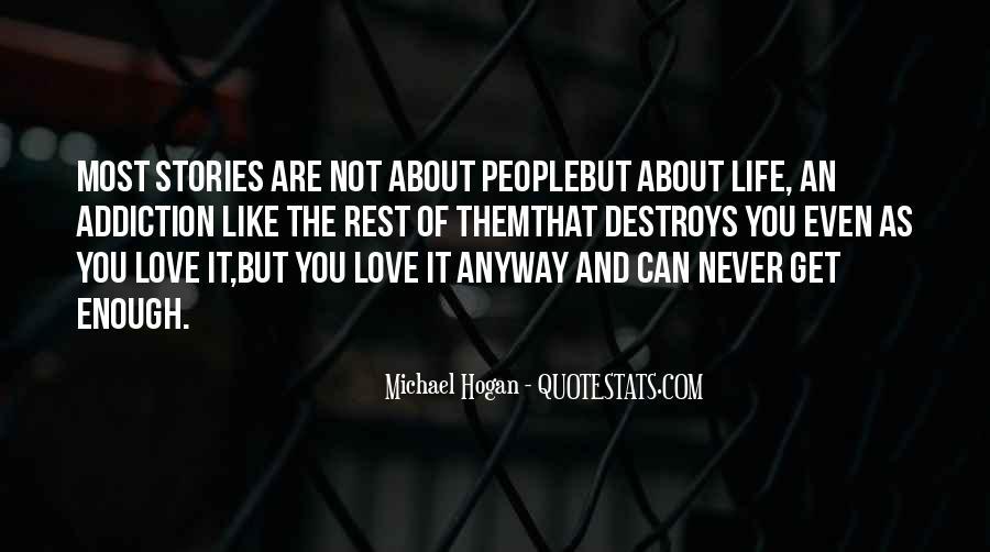 Destruction Love Quotes #1177343